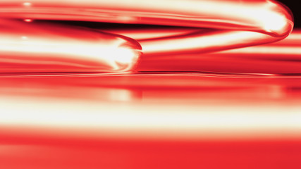 Red neon lights abstract background