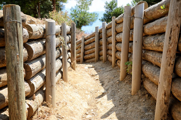 Trenches of Gallipoli, Canakkale , Turkey