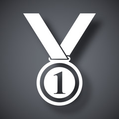 Vector medal icon