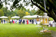 canvas print picture - wedding reception outdoor