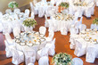 Table set for an event party or wedding reception - 80386313