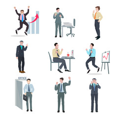 Successful Businessman Set