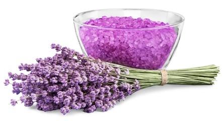 Lavender. lavender bath