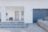 Entrance to detached house - 80387364