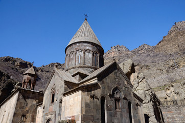 Geghard or Ayrivank medieval monastery ,Armenia,Unesco heritage