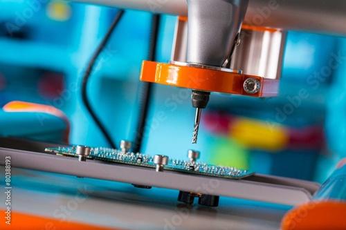PCB Processing on CNC machine - 80388193