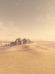 Desert Town Swallowed by the Sand