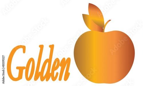 Fototapeta Golden Apple