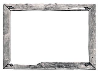 Holzrahmen alt und marode