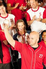 Fans: Man Shows Off Caught Baseball