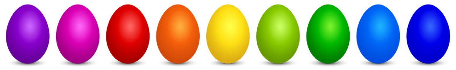 Colorful Easter Eggs 2