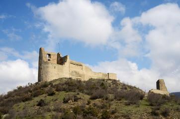 Ruins of Bebris Tsikhe Fortress near Mtskheta ,Georgia,Caucasus