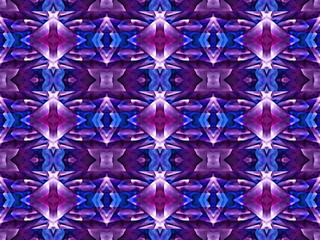 Vivid Colors Geometric Modern Pattern