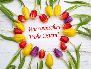 Frohe Ostern wünschen!