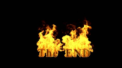 burning the end