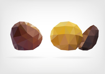 Low Poly Sweet Chestnut