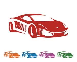 Car Logo - Sport Car - Car Vector - race logo