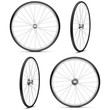 Vector Bicycle Wheels