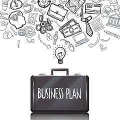 Business Doodles Set
