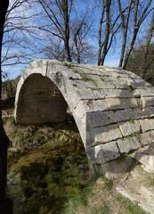 Pont randonnée. Castries