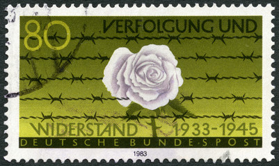 GERMANY - 1983: devoted Persecution and Resistance (1933-1945)