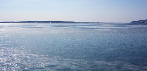 Frozen Penobscot Bay