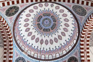 Central dome of Sehzade Mosque