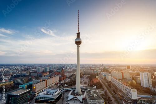 Foto op Canvas Berlijn Berlin Alexanderplatz