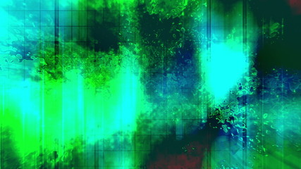 Looping Toxic Grunge Abstract Background