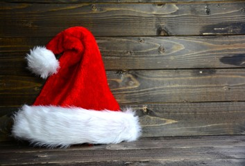 Weihnachtskarte - Weihnachtsmütze