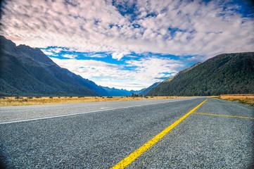 Milford Sound Highway New Zealand
