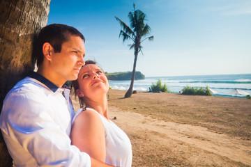 honeymoon of young couple