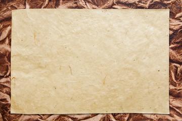 altes Schreibpapier blank