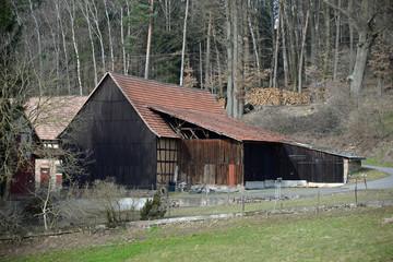 Bauernof im Odenwald