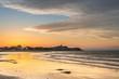 Leinwanddruck Bild - Isola di Grado italia la spiaggia