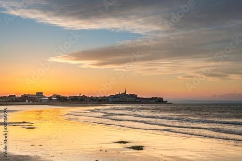 Leinwanddruck Bild Isola di Grado italia la spiaggia