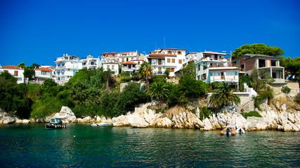 Skiathos Town In Skiathos Island, Greece