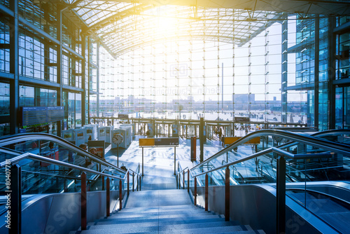 Foto op Aluminium Berlijn Berlin Hauptbahnhof