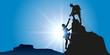 Alpiniste escalade - 80408171
