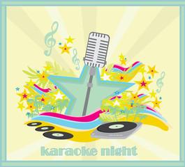 karaoke party design