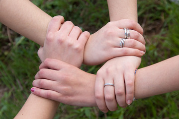 Hands - Strength, unity and compactness