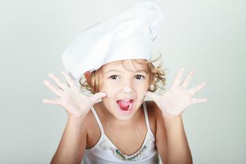 cuoca divertente