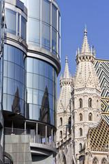 Wien, Architektur-Kontrast