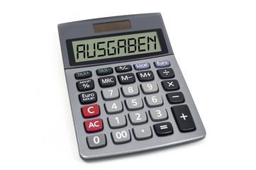 Taschenrechner mit Ausgaben