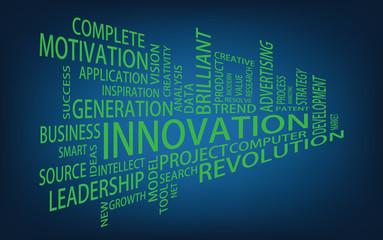 Innovation Tag Cloud, vector