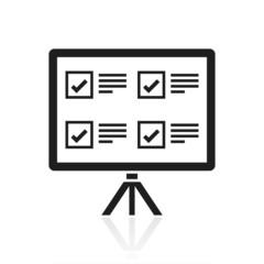 Black Presentation icon