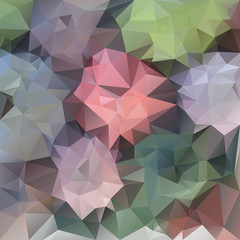 vector polygonal background triangular pastel spring flower