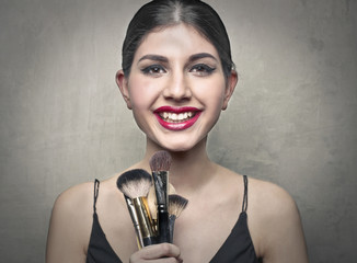 Brushes and beauty