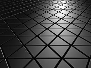 Dark Aluminum Abstract Silver Metallic Background