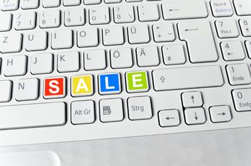 Helle Tastatur: SALE